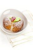 Домодельные итальянские печенья персика Стоковые Изображения