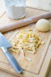Домодельные макаронные изделия Стоковая Фотография RF