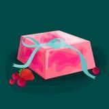 Домодельные мыла, цветки и эфирное масло баров установленные pictograms интернета икон vector вебсайт сети Стоковая Фотография RF