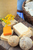 Домодельные мыла Стоковая Фотография RF