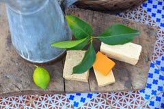Домодельные мыла Стоковая Фотография
