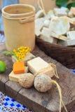 Домодельные мыла Стоковые Фото