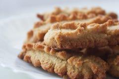 Домодельные печенья грецкого ореха Стоковые Изображения RF