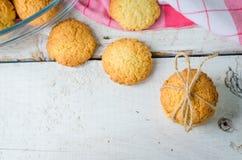 Домодельные печенья кокоса Стоковое Фото