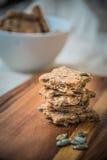 Домодельные печенья семян тыквы Стоковое Изображение
