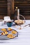 Домодельные плюшки с вареньем Стоковые Фотографии RF