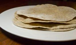 Домодельные раковины Tortilla Стоковая Фотография RF
