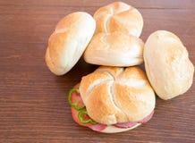 Домодельные сандвичи Стоковое Изображение