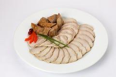 Домодельные сосиски и холодные отрезки Стоковое Изображение