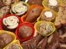 Домодельные трюфеля шоколада Стоковое Изображение