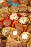Домодельные трюфеля шоколада Стоковые Изображения