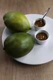 Домодельные чатни манго с манго Стоковые Фото