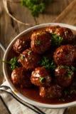 Домодельные шарики мяса барбекю Стоковые Фотографии RF