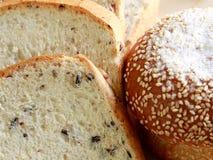 Домодельный варить сделанный от всех пшеницы и зерен с хлебами Стоковые Изображения RF