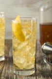 Домодельный виски Highball с водой соды Стоковое Фото