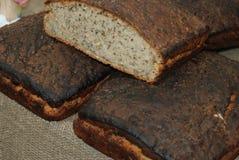 Домодельный вкусный хлеб рож Стоковые Фотографии RF