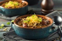 Домодельный жулик Chili Carne говядины Стоковая Фотография