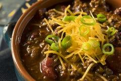 Домодельный жулик Chili Carne говядины Стоковые Фотографии RF