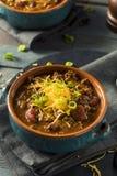Домодельный жулик Chili Carne говядины Стоковое фото RF