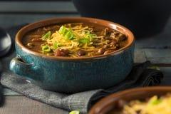 Домодельный жулик Chili Carne говядины Стоковые Фото