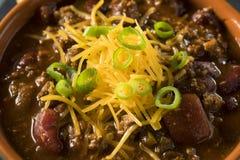Домодельный жулик Chili Carne говядины Стоковые Изображения