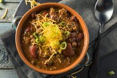 Домодельный жулик Chili Carne говядины Стоковые Изображения RF