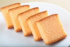 Домодельный оранжевый торт стоковые изображения