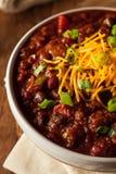 Домодельный органический вегетарианский Chili Стоковое Изображение
