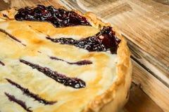 Домодельный органический пирог ягоды Стоковая Фотография