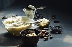 Домодельный отсутствие мороженого чашки арахисового масла маслобойки Стоковая Фотография