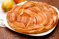 Домодельный пирог груши Стоковая Фотография RF
