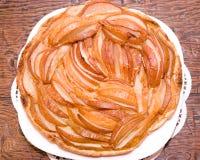 Домодельный пирог груши Стоковое Изображение