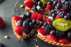 Домодельный пирог плодоовощ ключевой известки Стоковые Фото