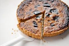 Домодельный пирог тыквы Стоковая Фотография RF