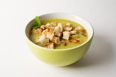 Домодельный суп гороха Стоковая Фотография RF