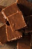 Домодельный темный Fudge шоколада Стоковое Изображение RF