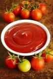 Домодельный томатный соус стоковая фотография rf