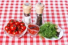 Домодельный томатный соус Стоковое Изображение
