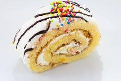 Домодельный торт крена стоковое изображение