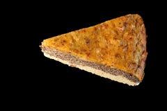 Домодельный торт макового семенени сделанный от paleo и вегетарианских дружелюбных ингридиентов Стоковые Фото
