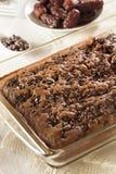 Домодельный торт пирожного шоколада Стоковое фото RF
