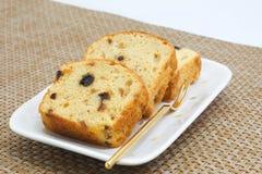Домодельный торт фунта плодоовощ Стоковая Фотография