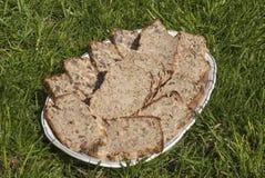 Домодельный meatloaf овечки и трав Стоковая Фотография RF