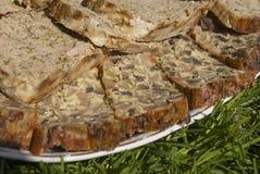 Домодельный meatloaf овечки и трав Стоковые Изображения RF