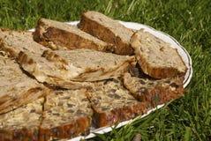 Домодельный meatloaf овечки и трав Стоковое Изображение RF
