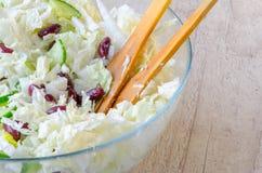 Домодельный Vegetable салат Стоковое Фото