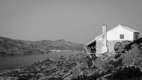 Дом лагуны Стоковая Фотография RF
