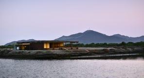 Дом лагуны Стоковые Изображения