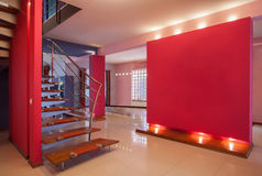 Дом амаранта - корридор стоковая фотография rf
