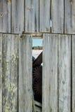 Дом амбара через другой дом амбара Стоковые Изображения